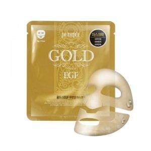 маска для лица с золотом и EGF PETI