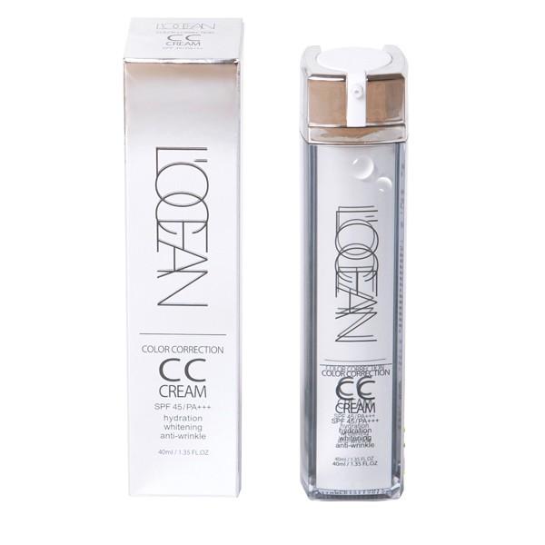 L'Ocean CC cream: тональный крем для лица