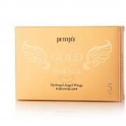 Гидрогелевые маски для шеи Petitfee Gold Neck Pack