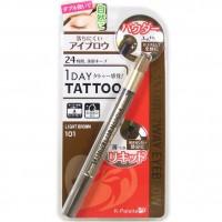 Двухсторонний лайнер для бровей с эффектом татуажа 1 DAY TATTOO K-Palette Japan-LASTING 2WAY EYEBROW Liquid & Powder.